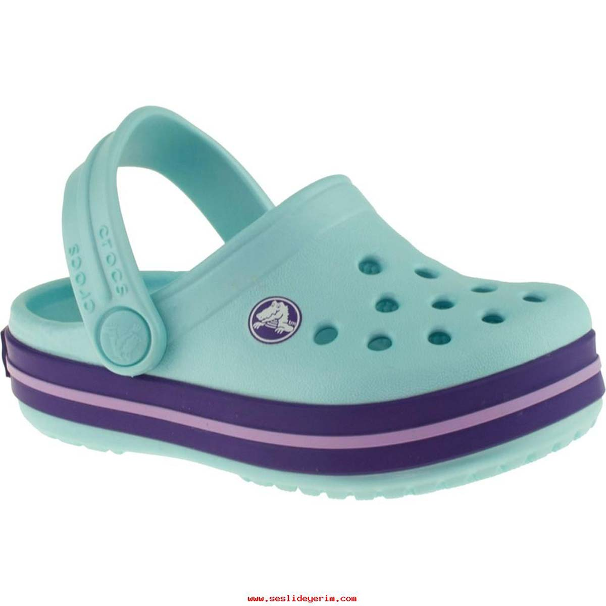 e25747a2f6935 Crocs Crocband K Junior Clog (Ice Blue) Online at Lowest Price in India