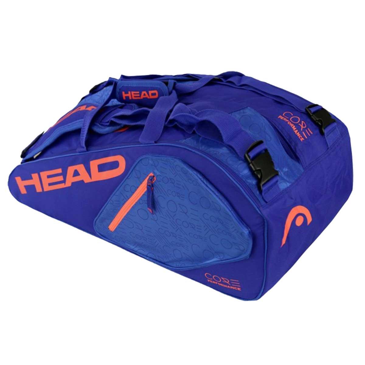 a71f98878ec2 Head Core Super Combi 9R Tennis Kit Bag (Blue)