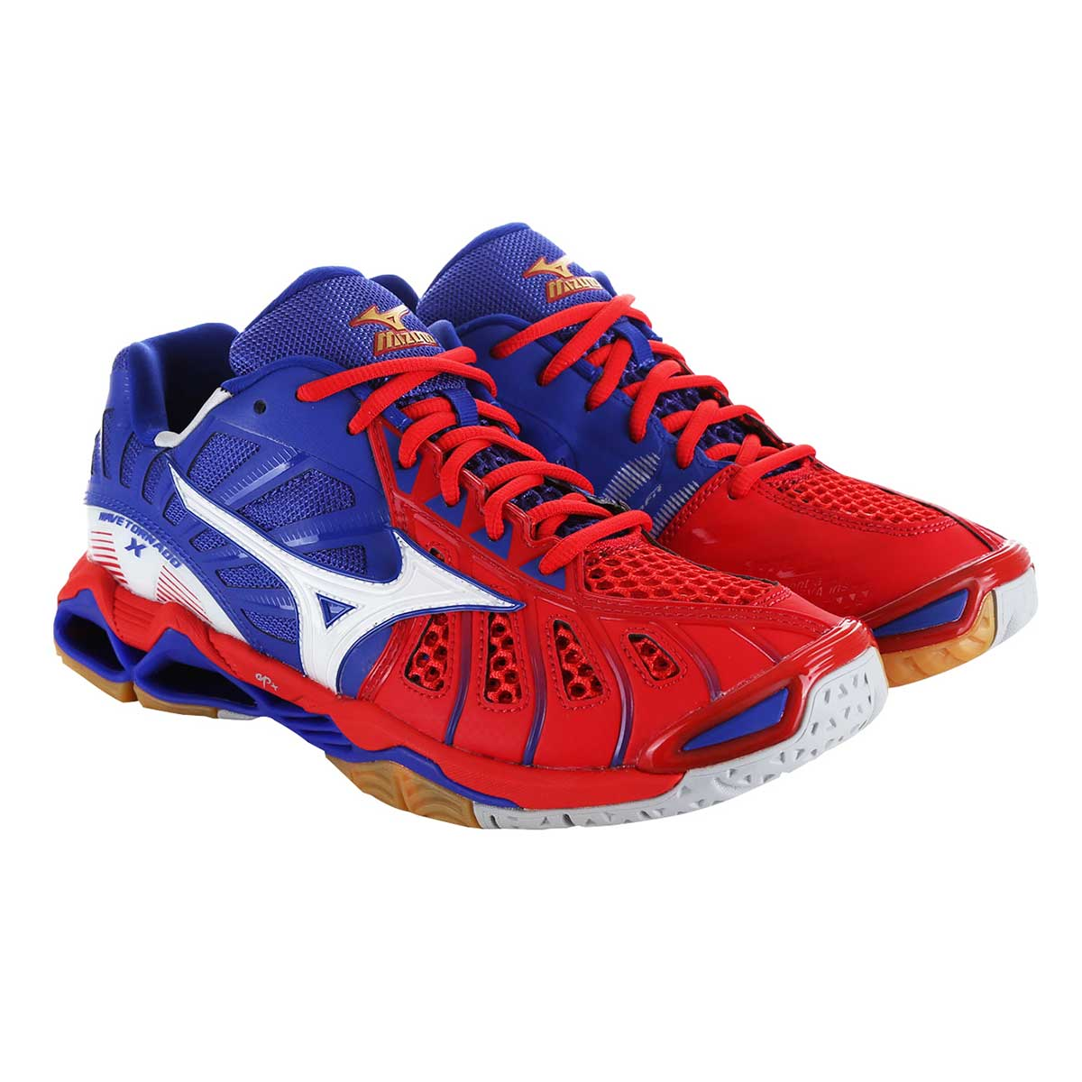 Buy Mizuno Wave Tornado X Indoor Court Shoes (Red White) Online 383a6ae50cf