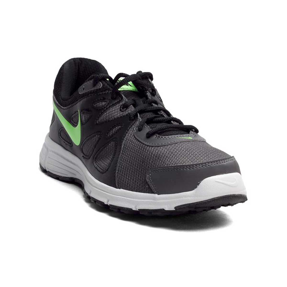 d5c92f808e5 Buy Nike Revolution 2 Running Shoes (Black Grey Green) Online