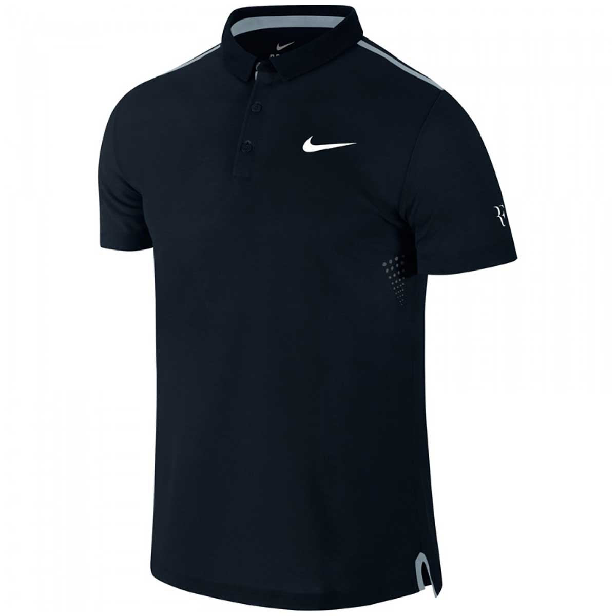 Buy Nike RF Advantage Premier Polo T-Shirt (Black) Online 619155425ad9
