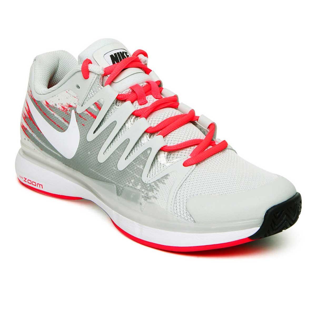 fe9d6e174593 Buy Nike Zoom Vapor 9.5 Tour Tennis Shoes (Lite Grey White) Online