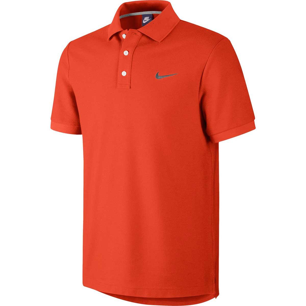 Buy Nike Men s Cotton Polo (Orange) Online in India 62179ef19