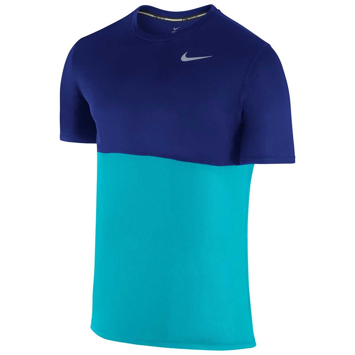 34f3da83ad0d Buy Nike Men s Dri-Fit Running T-Shirt (Blue) Online in India