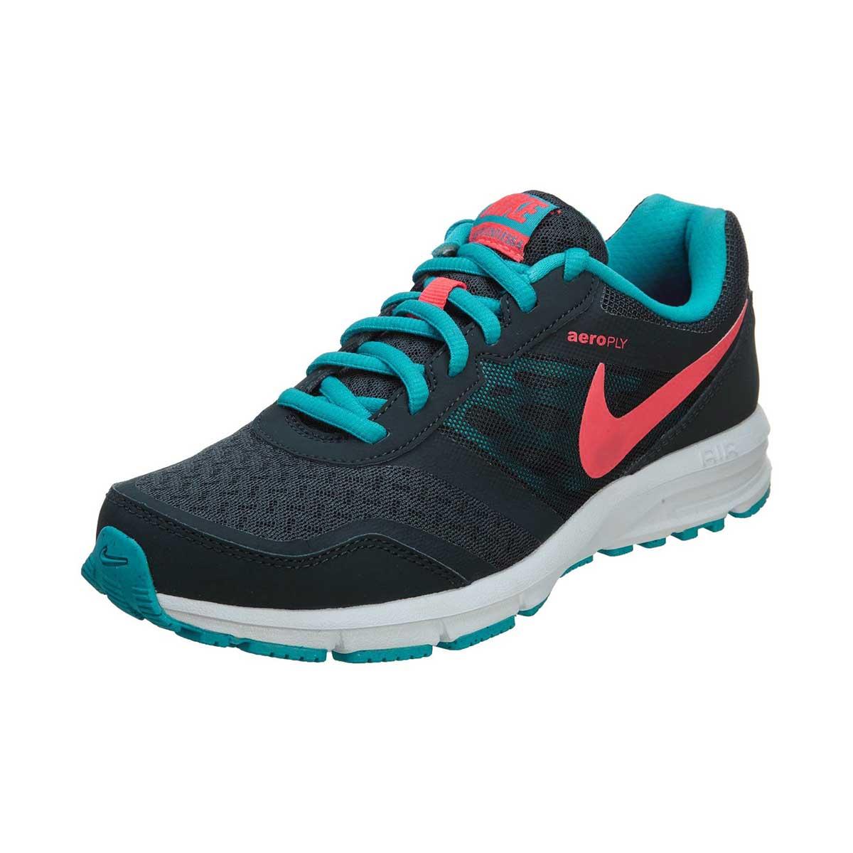 wyprzedaż ze zniżką sklep internetowy Nowe zdjęcia Nike Air Relentless 4 Womens Running Shoes (Grey/Blue/Pink)