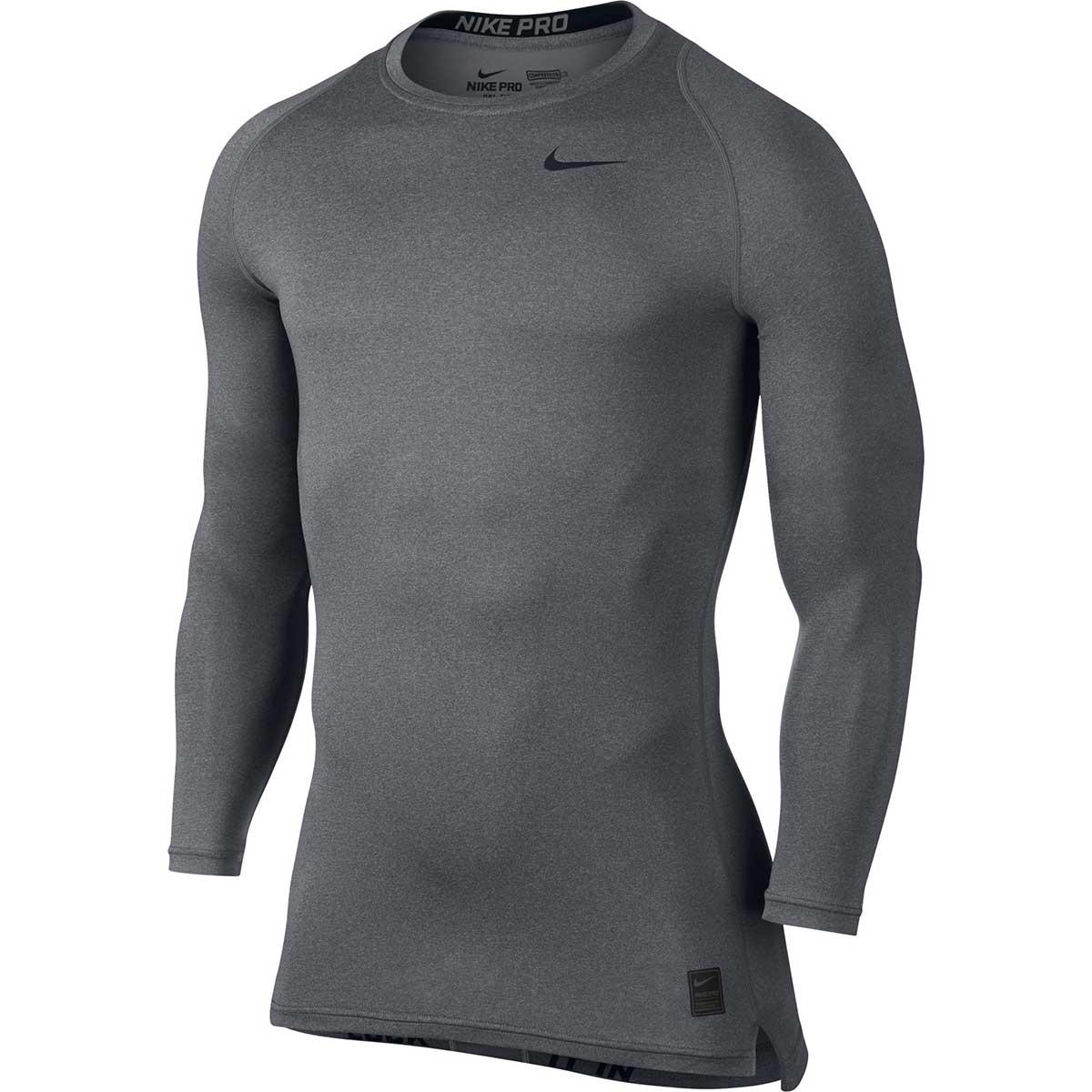 Nike Pro Combat Long Sleeve Top (Black 449832 010)
