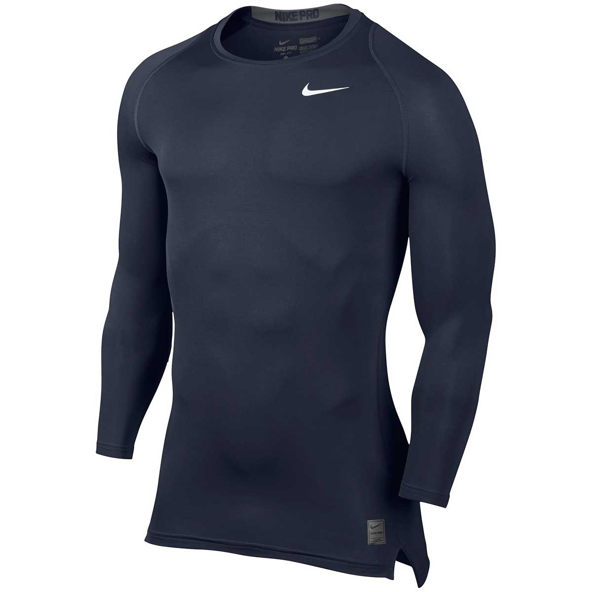 ab5db8ba4 Buy Nike Pro Combat Long Sleeve Top (Navy) Online India
