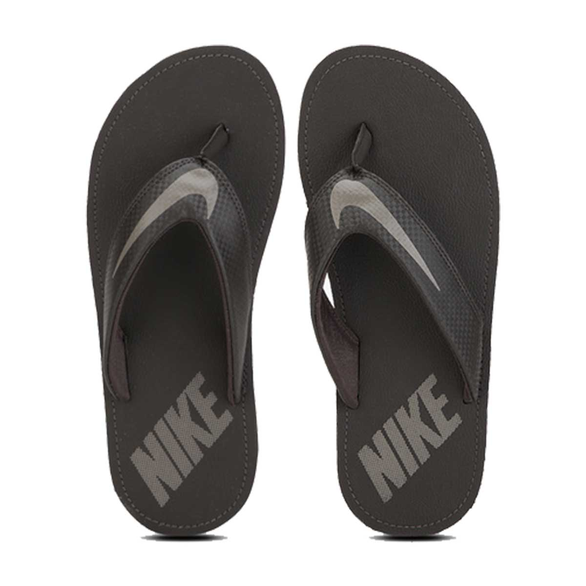buy online 86f52 0d645 Nike Chroma Thong 4 Slippers (Black / Grey)
