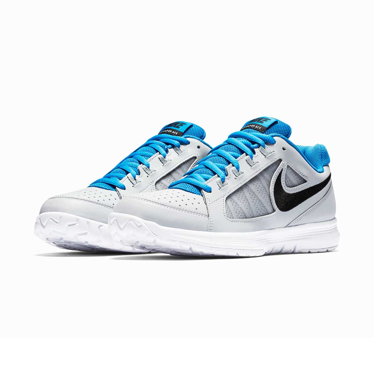 900d6082b0ed Buy Nike Air Vapor Ace Tennis Shoes (Grey Black Blue) Online