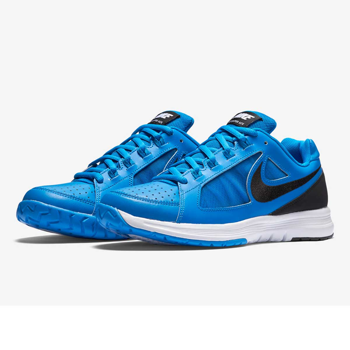 big sale 0cf23 bb7de Buy Nike Air Vapor Ace Tennis Shoes (Blue Black White) Online