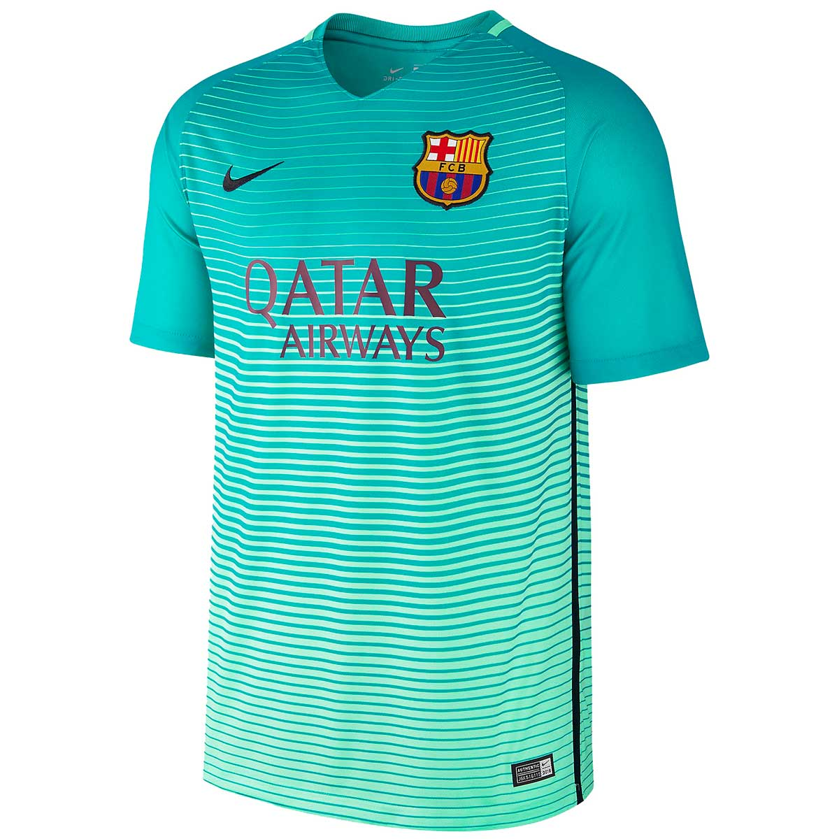 separation shoes dfaa6 1b1c6 Nike FC Barcelona Jersey 2016/17 (Green)
