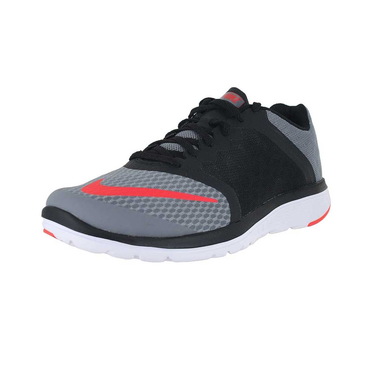 best authentic 2a0ff afd39 Buy Nike FS Lite 3 Running Shoes (Black Grey Red) Online India