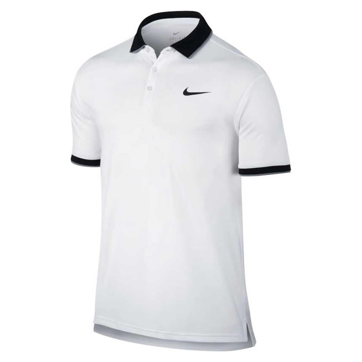 f763923f Buy Nike Mens Dri-Fit Polo T-Shirt (White/Black) Online India|Nike Men  Clothing