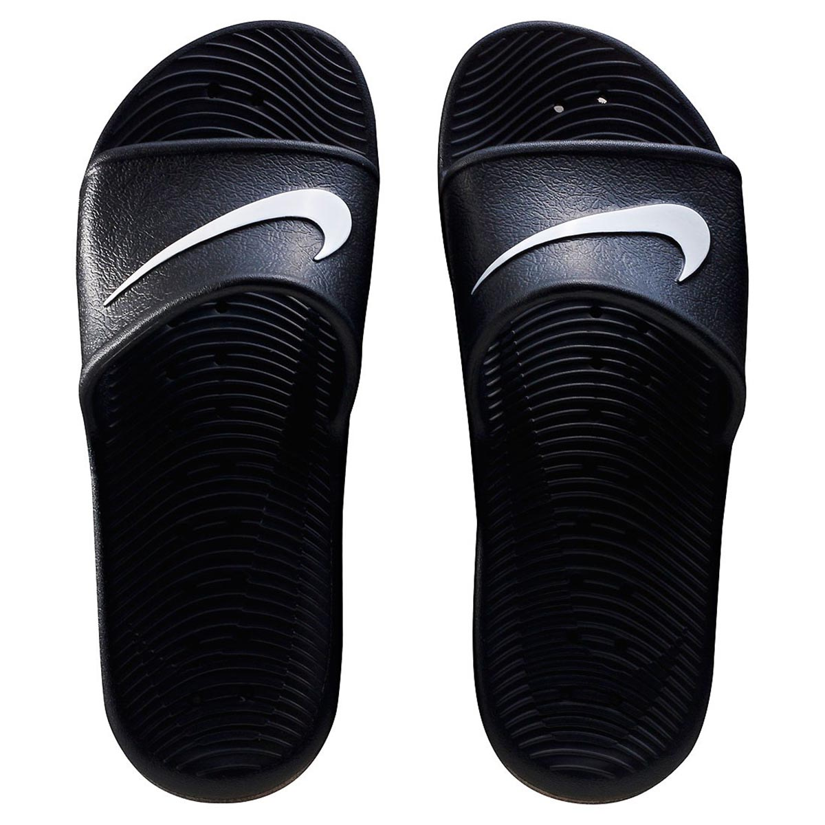 ef539e282 Nike Kawa Shower Flip Flops (Black White) Online at Lowest Price in India