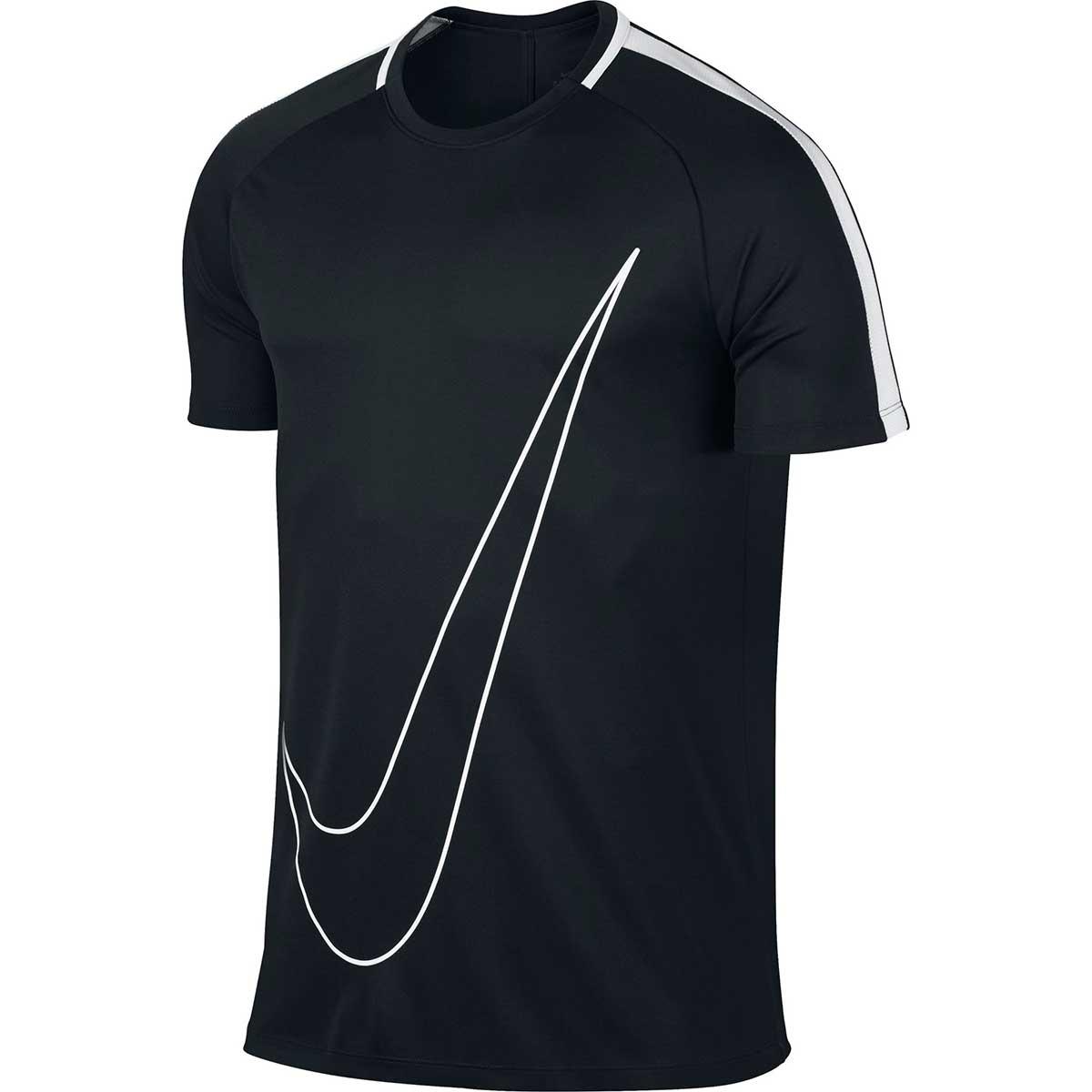 0ac322b8 Buy Nike Men's Dry Academy Football T-Shirt (Black/White) Online