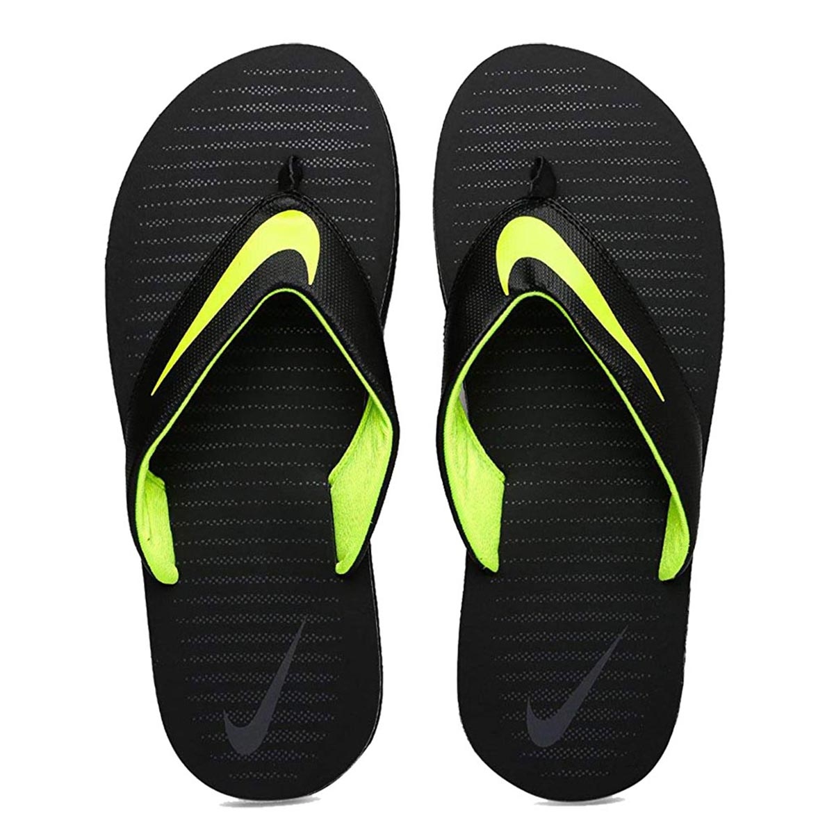 separation shoes 4f987 fd1c9 Nike Chroma Thong 5 Flip Flops (Black/Volt/Grey)