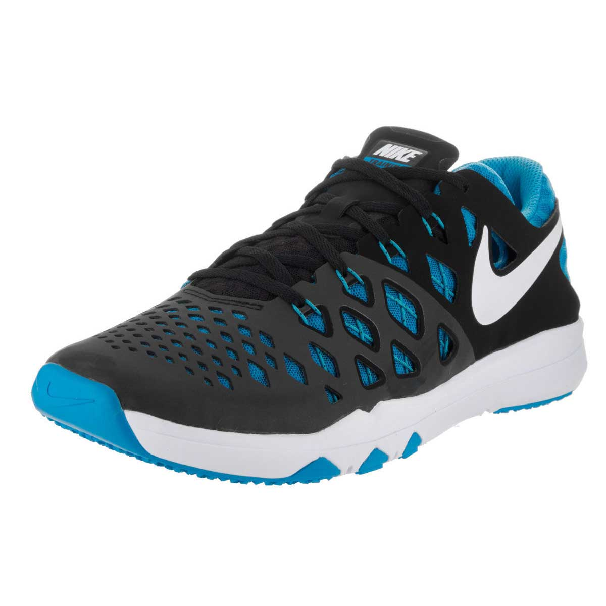 Buy Nike Speed 4 Training Shoes (Black Blue) Online at Lowest Price in India 036ae0b17