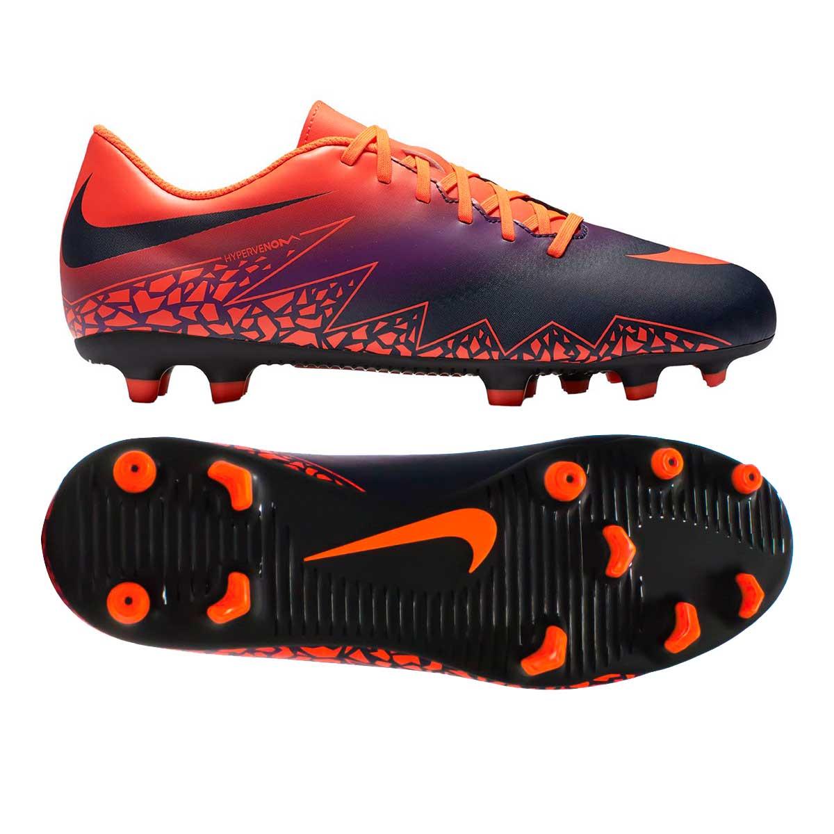 competitive price a3e42 1e844 Nike Hypervenom Phade II FG Football Shoes (Crimson/Obsidian)