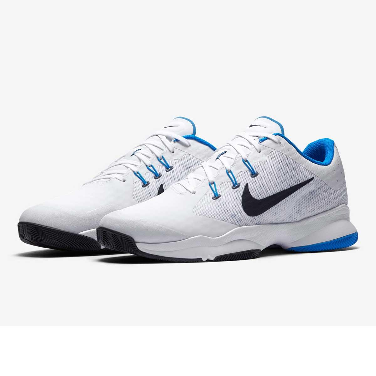 Nike Air Zoom Ultra Tennis Shoes (WhiteBlueObsidian)