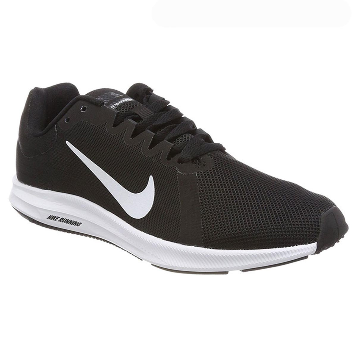 bb583e45c85 Nike Downshifter 8 Womens Running Shoes (Black White) Online at Lowest Price  in India