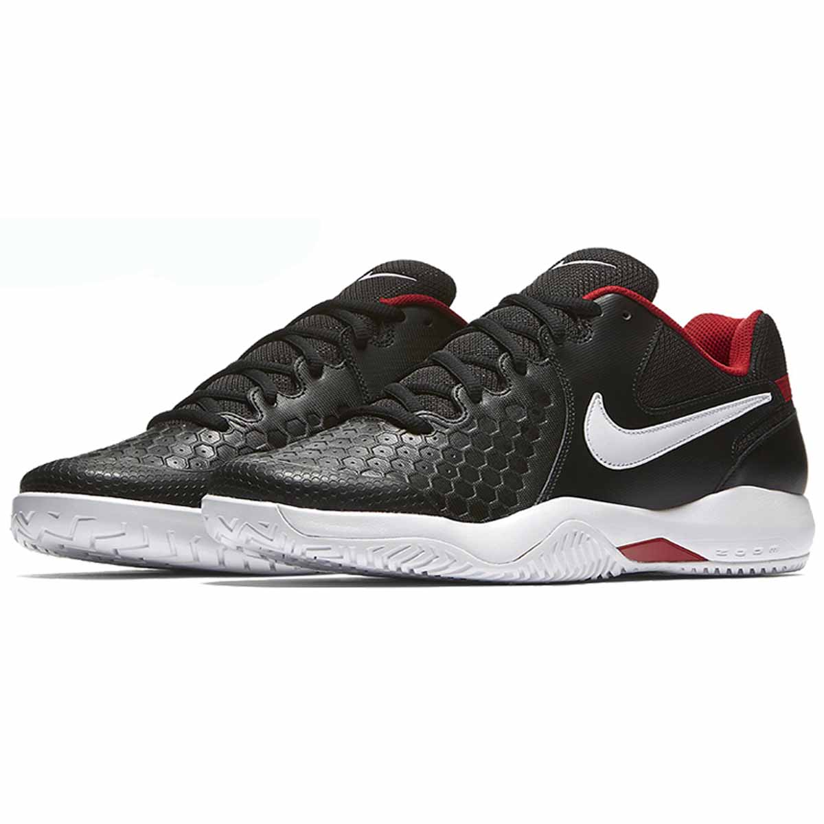 415491039afb Buy Nike Air Zoom Resistance Tennis Shoes(Black White Red) Online