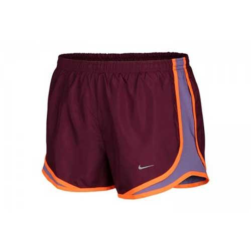 bf5060231f8988 Buy Nike Women s Running Shorts (Burgundy) Online India