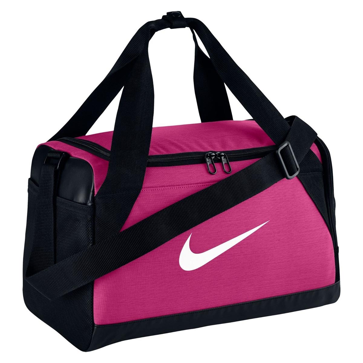 c66d42ddc4c7 Buy Nike Brasilia XS Duffle Bag (Pink Black) Online at Lowest Price in India