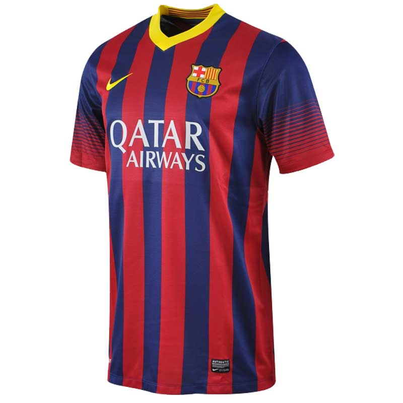 847cb10aaaf Buy Nike FC Barcelona Home Jersey 2013 14 Online in India