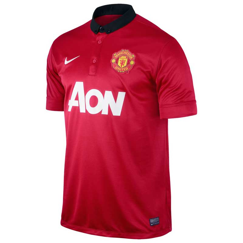 e2e86ce7a6a Buy Nike Manchester United Home Jersey 2013 14 Online India