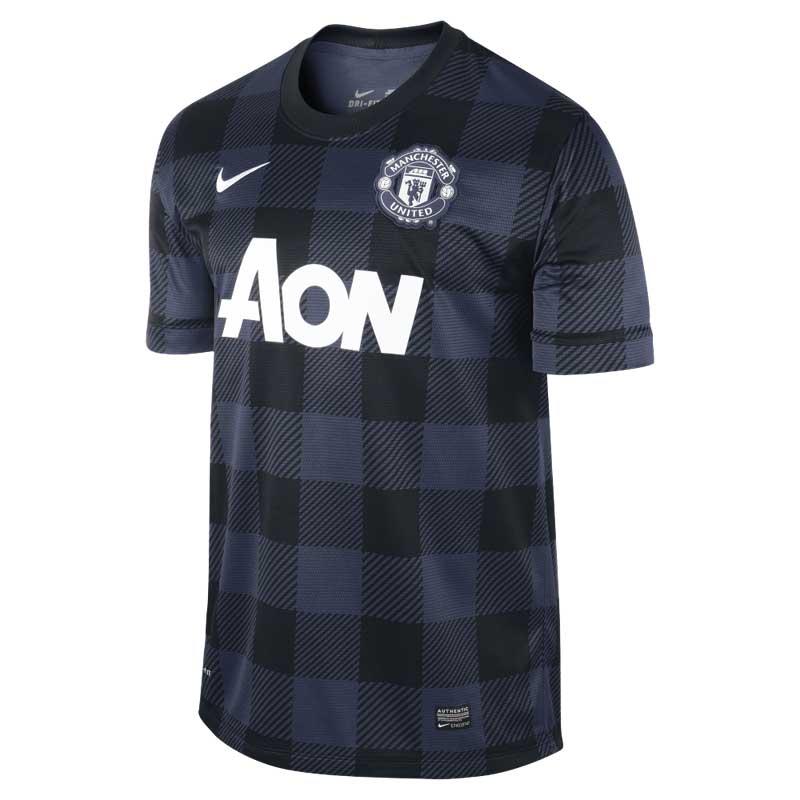 wholesale dealer b37c8 3f49f Nike Men's Manchester United Black Jersey