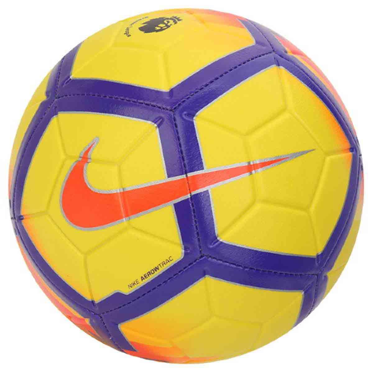 8d987d827a Nike Strike Premier League Football (Yellow/Purple)