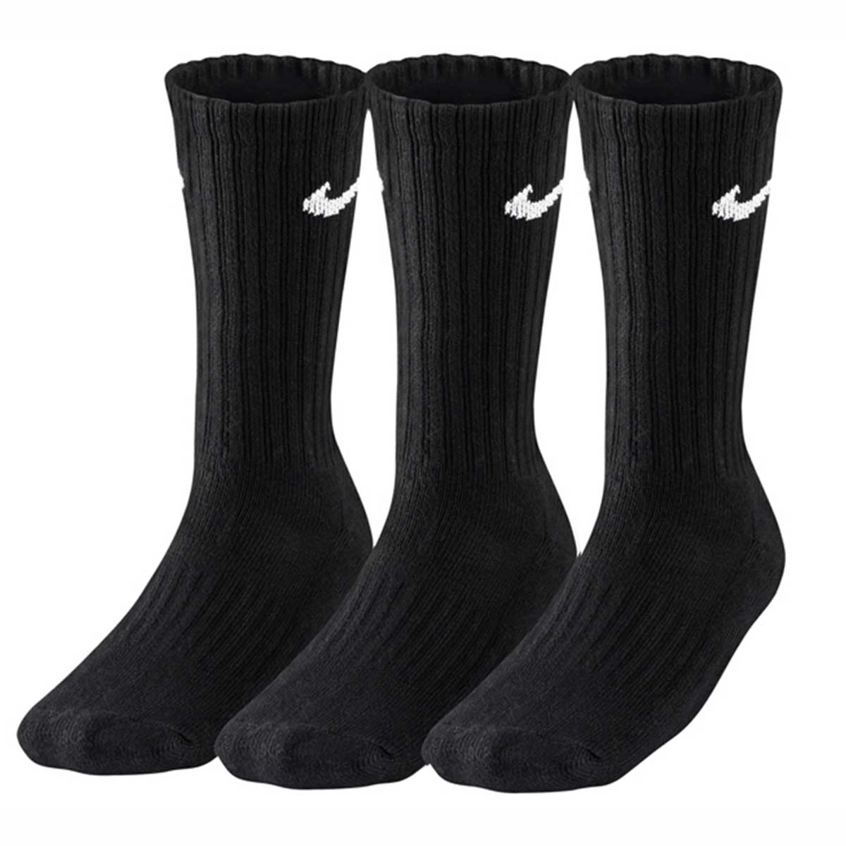 Buy Nike Performance Cotton Socks (Black - Pack of 3) Online at Lowest  Price in India 17b04bb69d