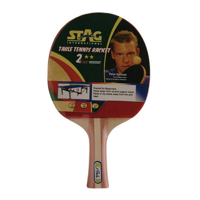 ab8bb5b683 Buy STAG 2 Star Table Tennis Bat Online in India