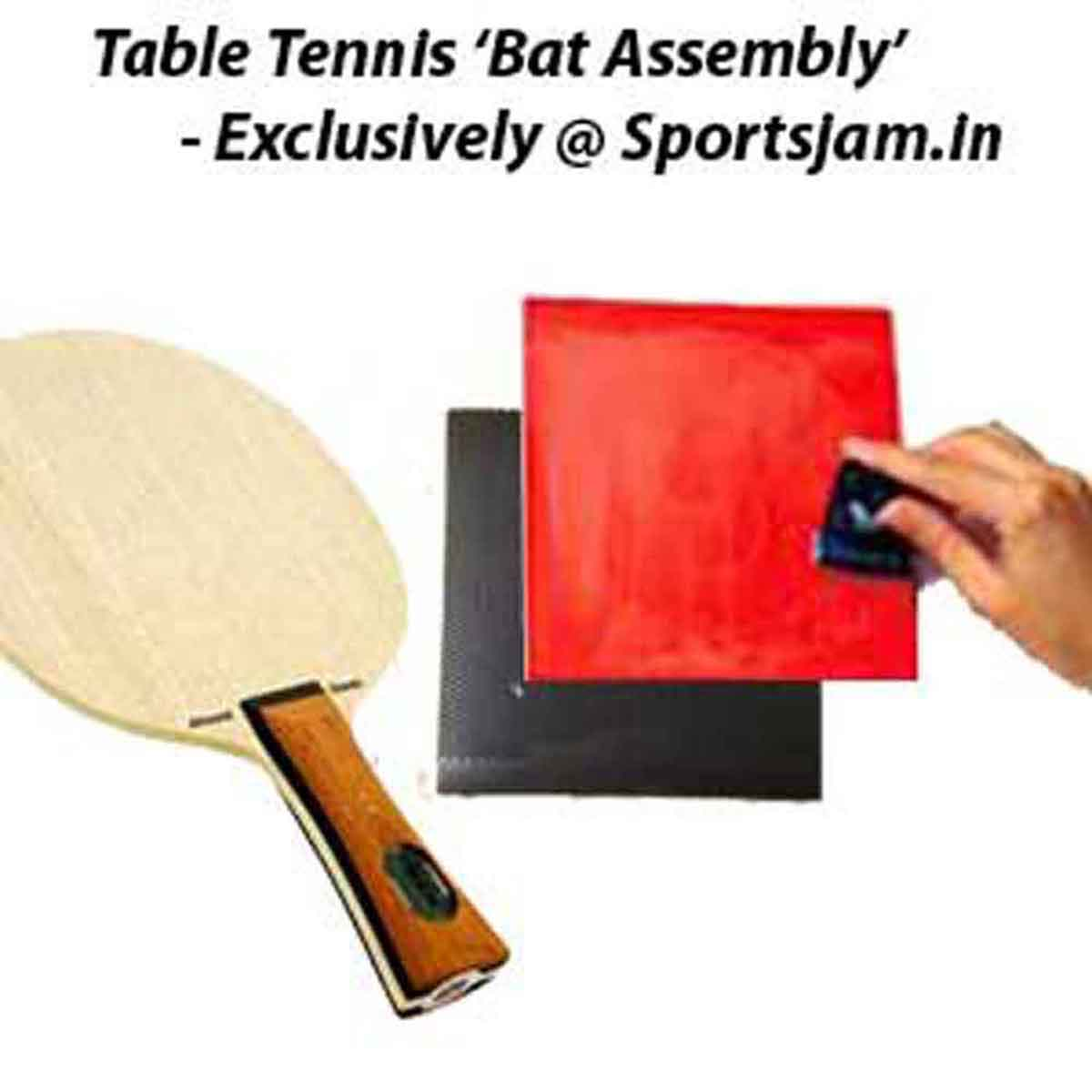 e07bb8e1d88 Buy Table Tennis Bat Assembly Online in India