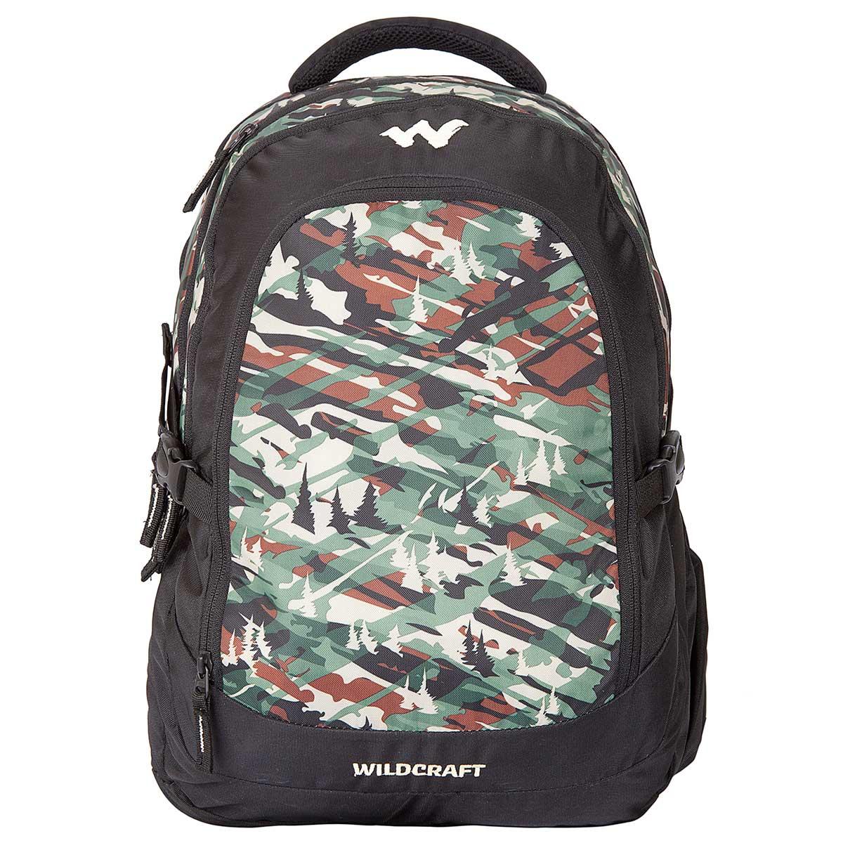 Buy Wildcraft Camo 4 Backpack (Green) Online in India 062c97ebb87af