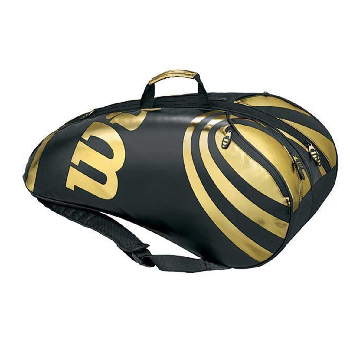 Buy Wilson Tour 6 Pack Tennis Kit Bag Online India c933769e47