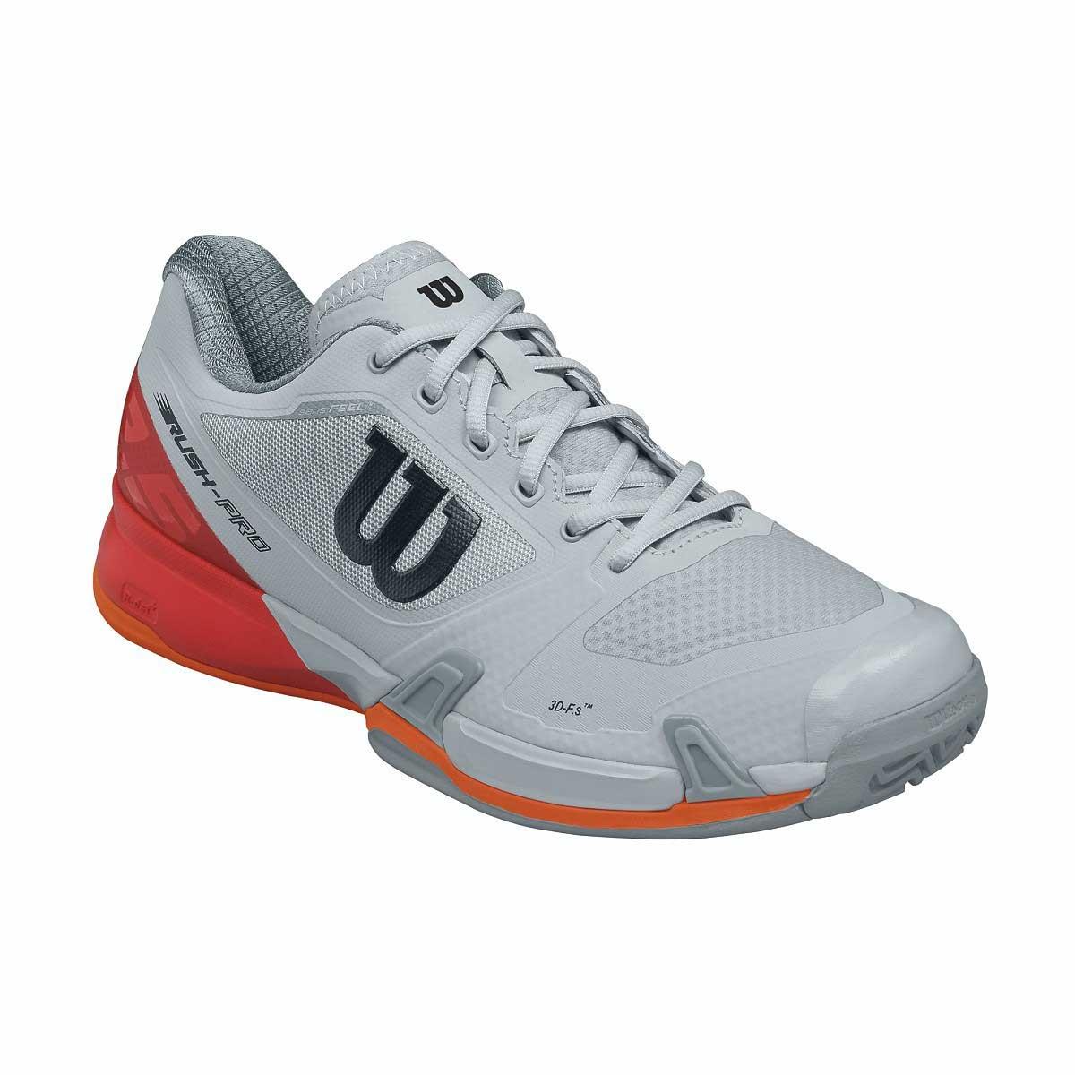 11888ba1a016 Buy Wilson Rush Pro 2.5 Tennis Shoes (Pearl Blue Fiery Red) Online