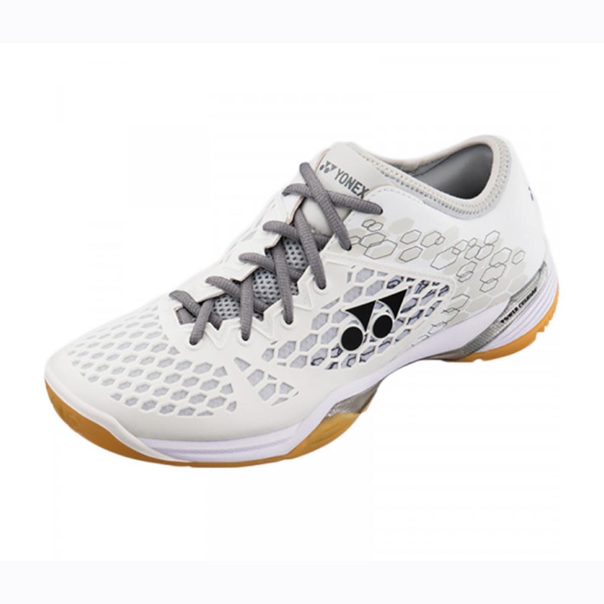 recognized brands huge discount aesthetic appearance YONEX SHB 03 Z Men Badminton Shoes (White)