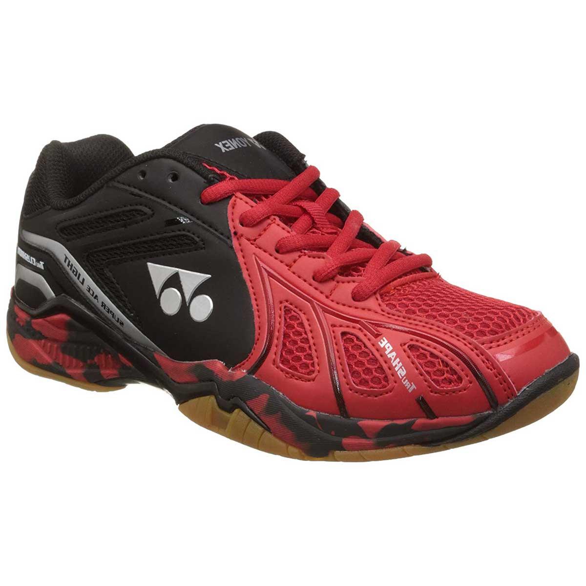 e6291fecb5f Buy YONEX Super Ace Light Badminton Shoes (Red Black) Online