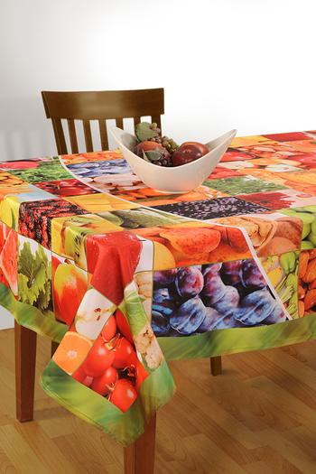 Table Linen, Clothing, Kitchen Decor, Swayam, Swayam Digitally Printed Table Cover  6 Seater