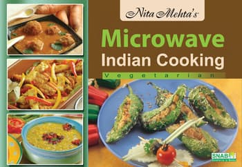 Cook Books, Nita Mehta, Nita Mehta's Microwave Indian Cooking Veg.