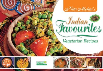 Cook Books, Nita Mehta, Nita Mehta's Indian Favourites - Vegetarian Recipes