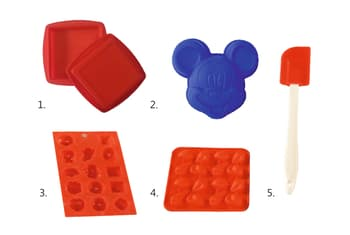 Baking Moulds, Bakeware, Bake & Cook, HELPING HAND, Helping Hand Cake and Chocolate Baking Set (5 Pc)