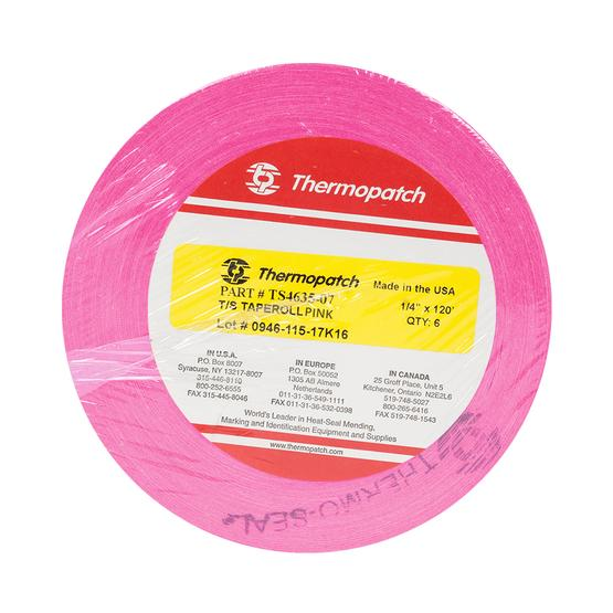 Thermopatch Usa Marking Tape(6Rolls)Pink