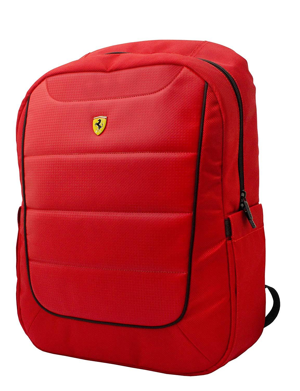 b369da709f9a Ferrari Scuderia 15 Inches Black and Red Backpack