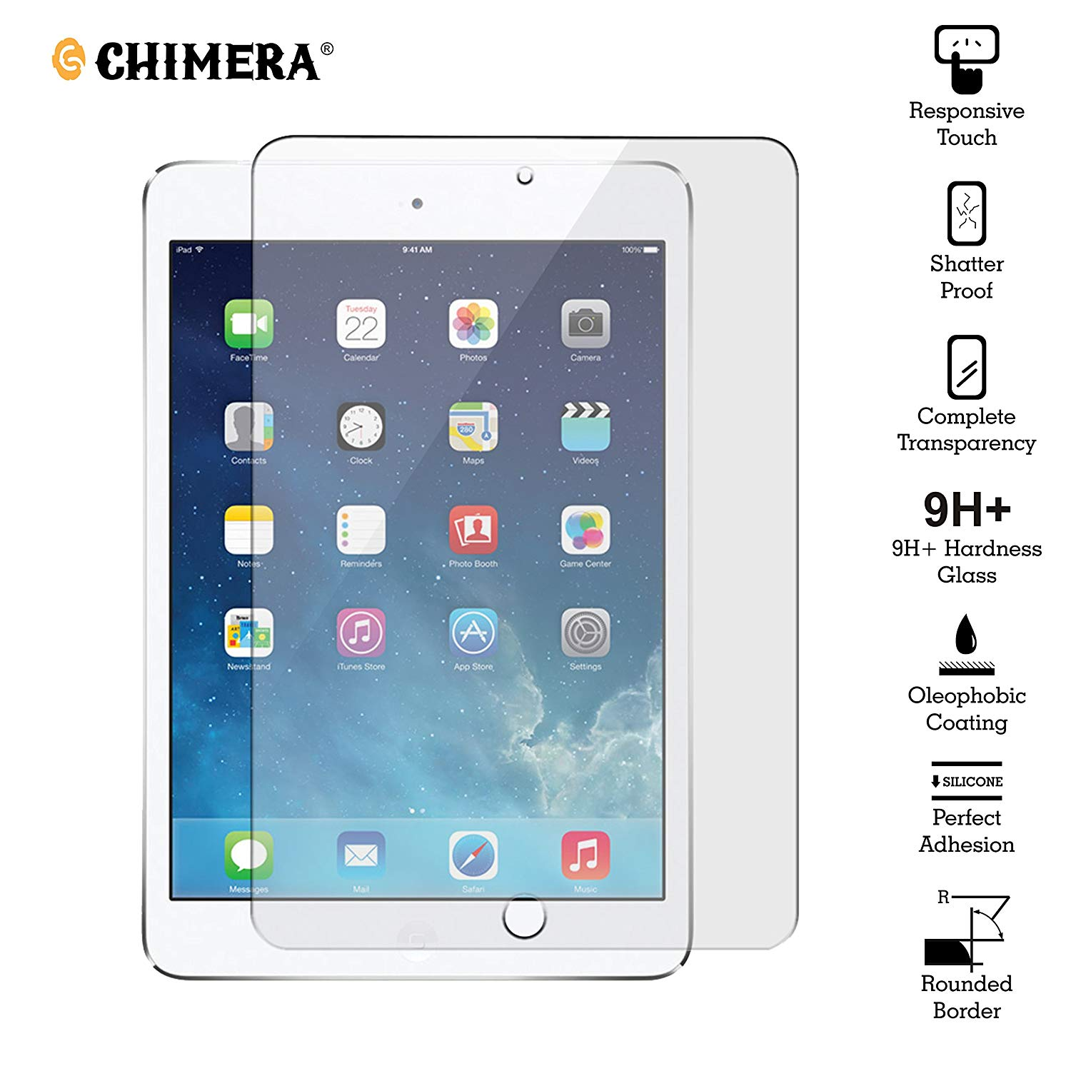 Chimera Tempered Glass for iPad Pro 10 5- Advance