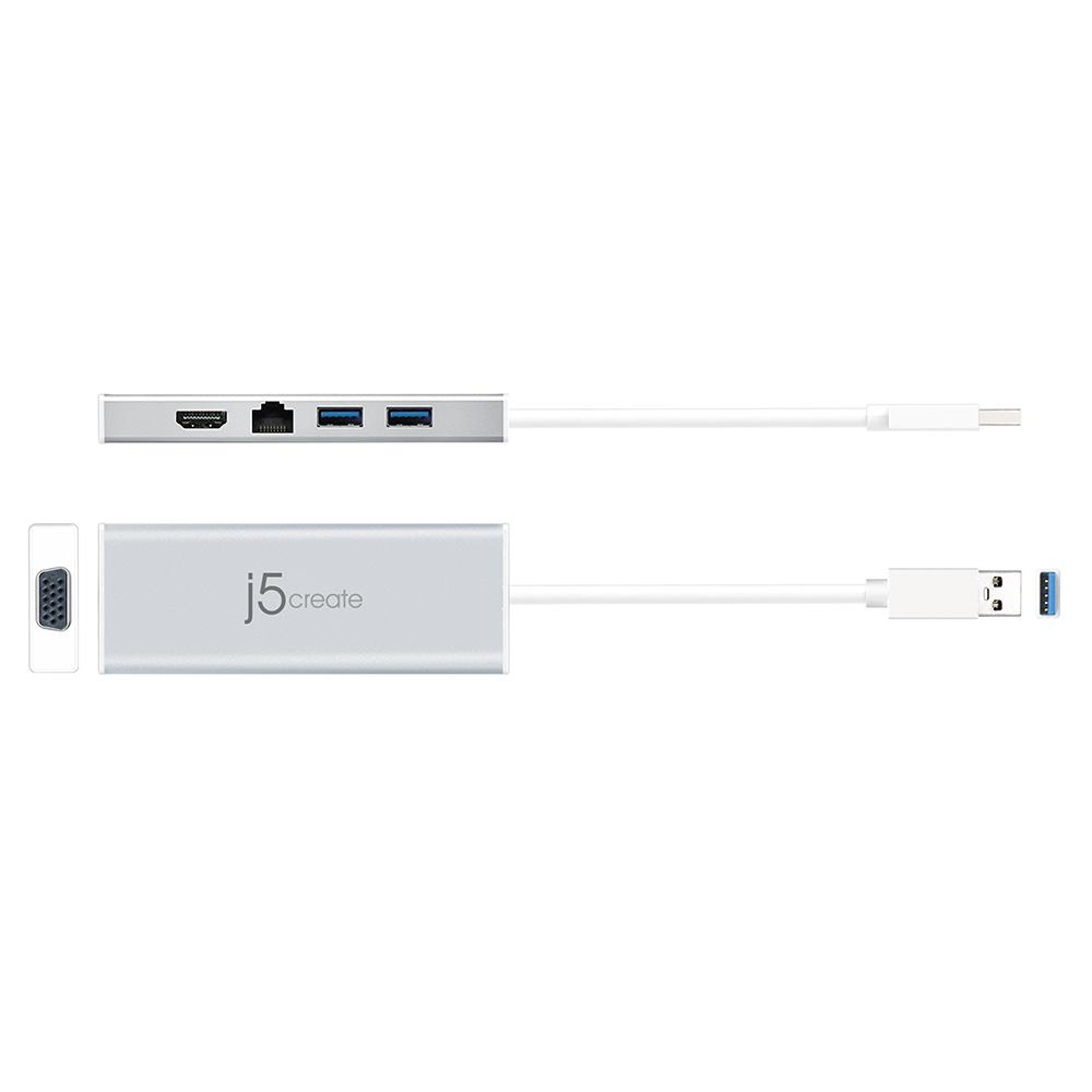 j5 Create USB 3 0 Mini Dock - Grey