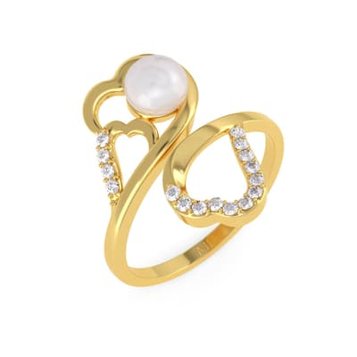 Gold Ring 22kt Purity From Pearl Collection Has Been Added To Your Wishlist Already Exists In
