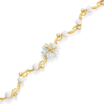 624ff084c87c5 Gold Bracelet 22Kt Purity from Pearl Collection