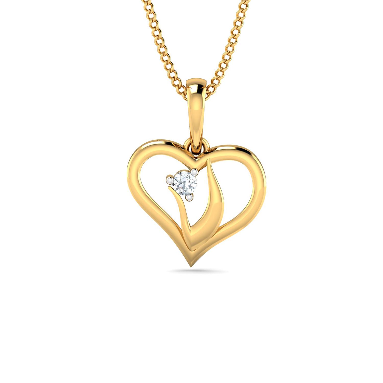 Diamond Single Chain Pendant e746f1b2d